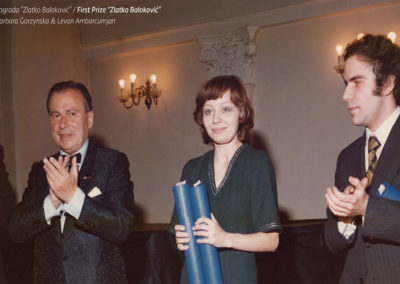 1977 First prize winners